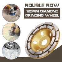 125mm Diamond Concrete Grinding Cup Wheel Disc Segment Masonry Granite Stone Grinding Wheel