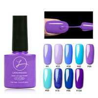 Fashion Purple Nail Gel Polish