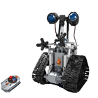 Meilleurs prix MoFun DIY 2.4G Patrol RC Robot Block Building Infrared Control Assembled Robot Toy