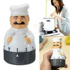 Meilleurs prix Kitchen Timer Analogue Alarm Clock Gadget Bell 60 Minute For Chef Cooking Food