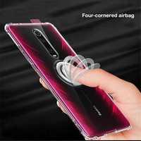Bakeey Transparent With Ring Holder Soft TPU Protective Case For Xiaomi Mi9T /Xiaomi Mi 9T Pro / Xiaomi Redmi K20 / Redmi K20 PRO