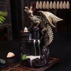 Meilleurs prix Dragon Backflow Incense Ceramic Statue Figurine Home Decorations Handmade Aromatherapy