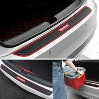 Universal Car Rear Trunk Sill Bumper Guard Protector Rubber Pad Cover Strip