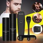 Les plus populaires Men Oil Beard Mustache Growth Essential Oil Liquid + Beard Roller + Comb