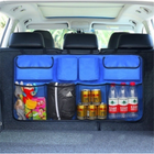Recommandé 46*89.5cm Car Rear Seat Back Storage Bag Massive Capacity Long-Lasting Durability