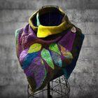 Acheter au meilleur prix Women's Multicolor Stripes Round Neck Scarves & Shawls
