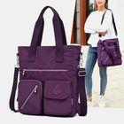 Prix de gros Women Large Capacity Nylon Handbag Crossbody Bag
