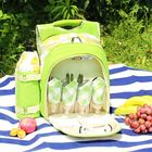 Discount pas cher 600D Oxford Cloth Camping Picnic Bag Portable Food Container Storage Bag With 2/4 Person Tableware