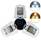 Meilleur prix AC100-277V E27 60W LED Bulb Deformable Induction Light Sensor Garage Lamp for Parking Lot Warehouse