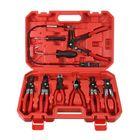 Meilleurs prix 9PC Steel Wire Long Reach Hose Clamp Pliers Set Hose Remover Plier Auto Tool Kit
