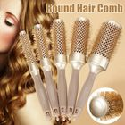 Les plus populaires Roller Hair Comb Hair Brush Round Comb DIY Hairstyle Salon