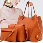 Bon prix Women Leather Handbag Shoulder Bucket Bag Messenger Satchel Evening Tote