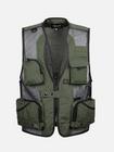 Meilleurs prix Mens Breathable Outdoor Quick Dry Mesh Multi Pocket Vest Tactical Fishing Sleeveless Vest