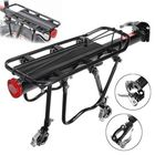 Best Price 25KG Maxload Aluminum Alloy Bicycle Black Rear Pannier Carrier Cargo Rack Seat Post Kit For Outdoor Mountain Bike Electric Rode Bike