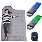 Meilleurs prix Envelope Waterproof Sleeping Bag Outdoor Camping Traveling Sleeping Bag Winter Cotton Warm Adult Sleeping Bag