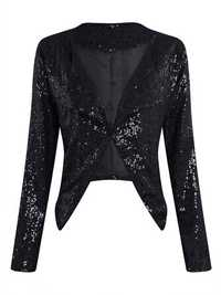 Sequins Irregular Jacket