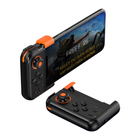 Meilleurs prix BASEUS GAMO LED Programmable 3D Linear Rocker Adjustable bluetooth 4.0 Mobile Game One-Handed Gamepad for iPhone 11 Pro Max for Samsung S10+ Xiaomi Redmi Note8 HUAWEI