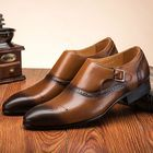 Good price Brogue Carved Elatic Band Casual Business Oxfords
