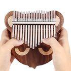 Meilleurs prix Byla 17 Keys Solid Wood Cat Shape Kalimb a Thumb Piano Finger Percussion with Tuning Hammer