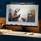 Promotion Baseus USB ScreenBar Led Desk Lamp Adjustable Reading Screen Hanging Light Computer Eye Protection Lamp from Xiaomi Ecological Chain