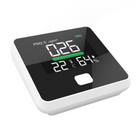 Promotion PM2.5 Air Quality Monitor Digital Gas Analyzer Laser Duty Sensor Air Detector Home LED Display Temp And Humidity Test Equipment