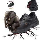 Recommandé TENGOO Men's Leather Hiking Steel Toe Work Safety Mesh Anti-slip Anti-Collision Climbing Shoes Safety Shoes