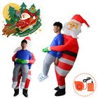 Promotion Scary Halloween Christmas Man Inflatable Costume Blow Up Suits Party Dress Decorations