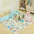 Meilleurs prix 2 x 1.8m Infant Foldable Cartoon Baby Play Mat Babe Carpet Children Crawling