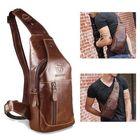 Meilleurs prix Bullcaptain Bag Men Genuine Leather Business Casual Bag