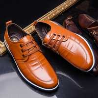 Microfiber Soft Sole Stitching Oxfords