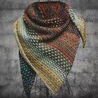Acheter au meilleur prix Multifarben Color Block Cotton Blend Women's Scarves & Shawl