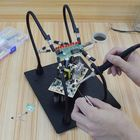 Les plus populaires NEWACALOX Magnetic PCB Board Fixed Clip Fixture Flexible Arm Soldering Third Hand Soldering Iron Holder Repair Tools