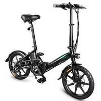 [EU Direct] FIIDO D3S Shifting Version 36V 7.8Ah 300W 16 Inches Folding Moped Bicycle 25km/h Max 60KM Mileage Electric Bike