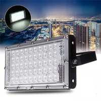 50W LED Flood Light Waterproof Outdoor Garden Landscape Football Field Lamp AC220V
