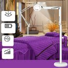 Acheter LED Lamp Magnifying Glass Cold Dimmable Floor Light Adjustable Height For Makeup Salon
