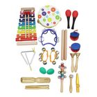 Meilleur prix Musical Toys Percussion Instruments Educational Tools Rhythm Kit for Kids