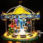 Meilleur prix LED Light Lighting Kit ONLY For LEGO 10257 Merry-go-round Building Bricks Toys