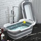 Offres Flash Portable Silicone Baby Shower Bath Tub Foldable Bathtub Safety Cat Dog Pet Toys Bath Tubs