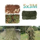 Acheter 5x3m Car Cover Military Camouflage Net Hunting Woodland Army Training Camo Netting Car Tent Shade Camping Sunshade Net