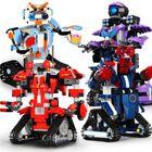 Bon prix Mofun DIY 2.4G Block Building Programmable App/Stick Control Voice Interaction Smart RC Robot Toy Gift
