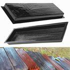 Bon prix Wood Grain Stepping Stone Mould Wall Mold Cement Bricks Garden Home Decor
