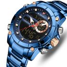 Promotion NAVIFORCE 9163 Waterproof Business Style Dual Display Watch