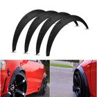 Meilleur prix 4Pcs 2 Inch/50mm Universal Flexible Car Wheel Fender Flares Extra Wide Body Wheel Arches
