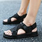 Promotion Hook&Loop Opened Toe Casual Beach Soft Sole Sandals