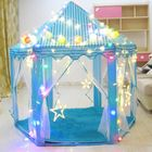 Discount pas cher Children Pop Up Play Tent Princess Playhouse Party Christma Gift Decorations +LED Light