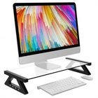 Offres Flash Aluminum Alloy Monitor Laptop Stand Desk Riser with 4 USB Ports for iMac MacBook Computer Laptop