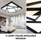 Promotion Modern Style LED Square Stack Ceiling Light Square Pendant Living Room Fixture