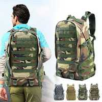 27L Outdoor Waterproof Molle Military Tactical Bag Sling Backpack Travel Assault Bag