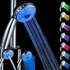 Promotion Magic Automatic 7 Color Water LED Lights Shower Head