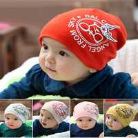Fashion Bike Angel Wings Baby Cotton Hat